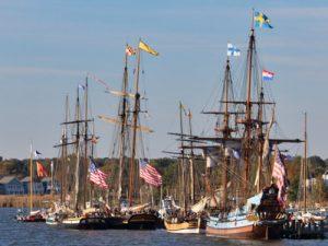 historic American tall ships